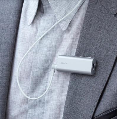 Bluetooth-гарнитура SONY SBH56 серебристый от 123.ru