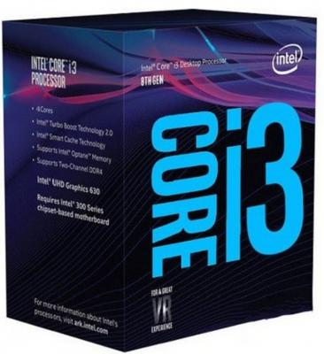 Процессор Intel Core I3-8350K 4GHz 8Mb Socket 1151 v2 BOX процессор intel core i5 6400 2 7ghz 6mb socket 1151 box