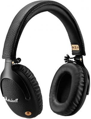 Гарнитура Marshall Monitor Bluetooth черный 04091743 buy marshall monitor headphones