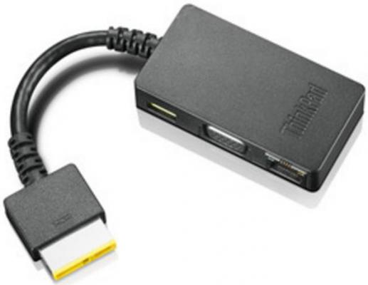 все цены на Переходник Lenovo ThinkPad OneLink Adapter to DC+VGA+RJ45 4X90G85927