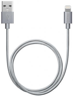 Фото - Кабель Lightning 1.2м Deppa 72189 круглый кабель