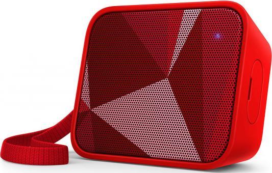 Портативная акустикаPhilips BT110R красный philips bt 110 c 00 pixelpop