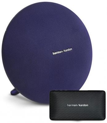 Портативная акустическая система Harman Kardon Onyx Studio 3 синий + Harman Kardon Esquire Mini ONYXSTUDIO3BLUESET беспроводная акустика harman kardon onyx studio 4 black