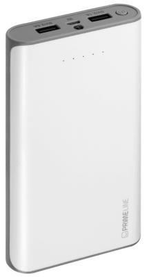 Внешний аккумулятор Deppa Prime Line 16000mAh 2.5A белый 3353