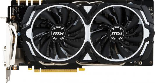Видеокарта 8192Mb MSI GeForce GTX 1070 Ti ARMOR 8G PCI-E 256bit GDDR5 DVI HDMI DP Retail узо abb f202 2p 40а 300 ма