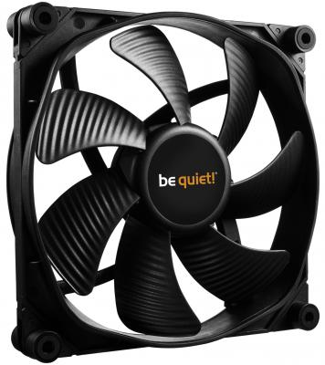 Вентилятор be quiet! SilentWings 3 140x140x25мм 3pin 1000rpm BL065 вентилятор be quiet silentwings 3 140x140x25мм 4pin 1600rpm bl071