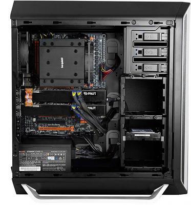 Корпус ATX Be quiet Silent Base 800 Без БП чёрный серебристый BG003