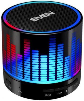Портативная акустика Sven PS-47 3Вт Bluetooth ��ерный цена 2017