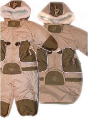 Купить Комбинезон-транформер Золотой гусь Зимушка таслан с капюшоном 74 см, для мальчика, зима, Верхняя одежда для детей