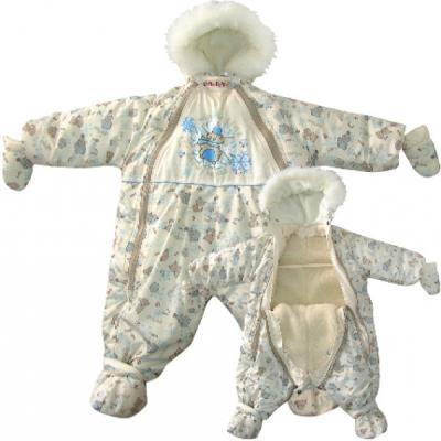 Комбинезон-транформер Золотой Гусь Снежок (светло-бежевый) комплект в кроватку золотой гусь мишка царь бежевый
