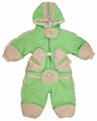 Купить Комбинезон-транформер Золотой Гусь Веснушка (зелёный), Золотой гусь, 74 см, таслан, для мальчика, весна, осень, Верхняя одежда для детей