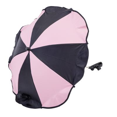 Зонтик для колясок Altabebe AL7001 (black/rose) зимний конверт altabebe clima guard al2274c black whitewash