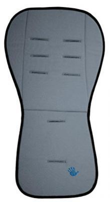Купить Матрасик-вкладыш 85x44см Altabebe Lifeline Polyester AL3006 (dark grey), Вкладыши и матрасики