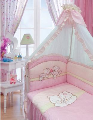 Постельное бельё Золотой Гусь Лапушка (розовый) постельное бельё золотой гусь zoo bear бежевый