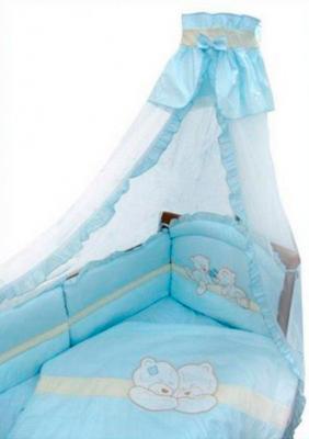 Постельное бельё Золотой Гусь Лапушка (голубой) нижнее бельё