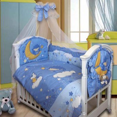 Постельное бельё Золотой Гусь Ёжик Топа-Топ (голубой)