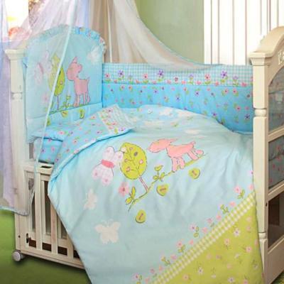 Постельное бельё Золотой Гусь Little Friend (голубой)