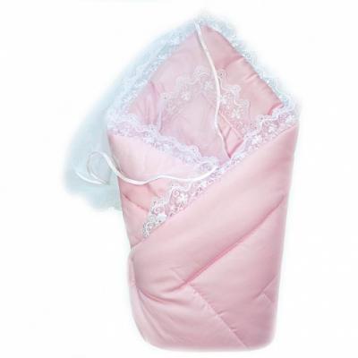 Картинка для Конверт-одеяло на выписку Золотой Гусь (сатин-жакард/розовый)
