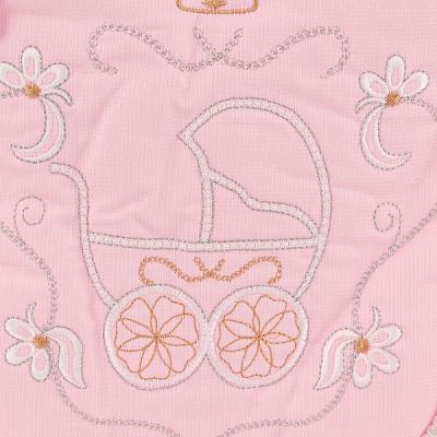 Конверт на выписку Золотой Гусь Бэби Элит (розовый)