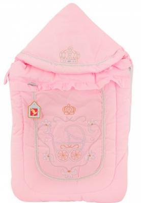 Конверт меховой Золотой Гусь Бэби Элит (розовый) конверт детский золотой гусь золотой гусь конверт меховой снежинка розовый