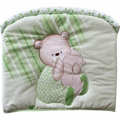 Бампер в кроватку Золотой Гусь Мишутка (зелёный) бортик в кроватку золотой гусь мишутка розовый 4046