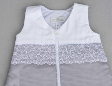 Спальный мешок Chepe for Nuovita Tenerezza (бело-серый)