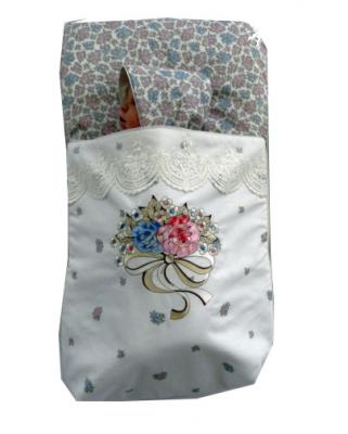 Спальный мешок Chepe for Nuovita Provenza francese (бело-розовый)