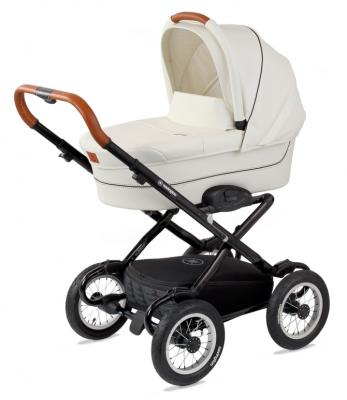 Коляска для новорожденного Navington Galeon (колеса 12/цвет royal snow)