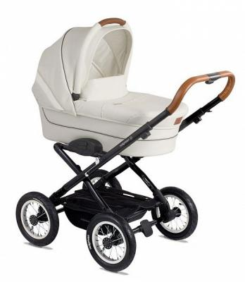 """Коляска для новорожденного Navington Corvet (колеса 12""""/цвет royal snow)"""