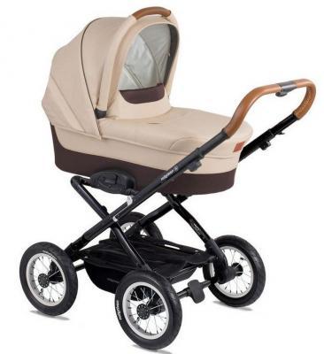 Коляска для новорожденного Navington Corvet (колеса 12/цвет royal sand) коляска navington navington коляска люлька corvet royal sand
