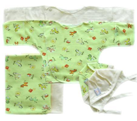 Набор трикотажный Золотой Гусь 6 предметов цвет зелёный зелёный цвет 3 6 months
