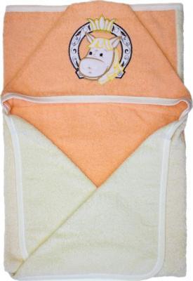 Полотенце банное Золотой Гусь размер 120*100, цвет молочный