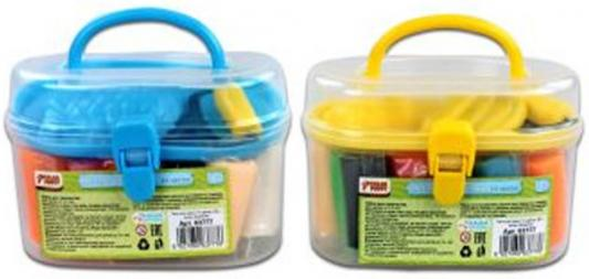 Тесто для лепки: 14 цветов, 205г, ролик, формочки Color Puppy 63777 всё для лепки color puppy тесто для лепки 26 цветов 442 г формы ролик