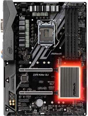 Материнская плата ASRock Z370 KILLER SLI Socket 1151 v2 Z370 4xDDR4 2xPCI-E 16x 4xPCI-E 1x 6 ATX Retail