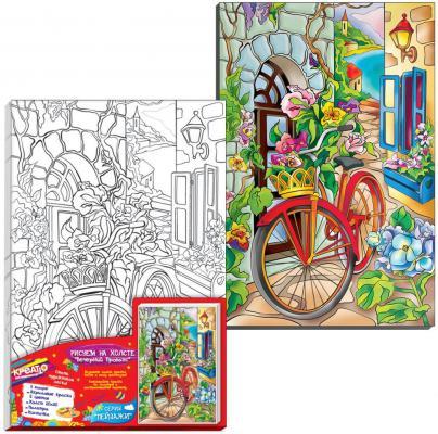 Набор для росписи по холсту Креатто Букет прованса от 3 лет набор для росписи по холсту креатто такса от 3 лет 30170