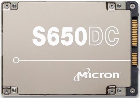Жесткий диск SSD 2.5 800Gb Crucial S650DC SAS MTFDJAK800MBS-2AN1ZABYY жесткий диск ssd 280гб pci e intel optane ssd 900p ssdped1d280gasx