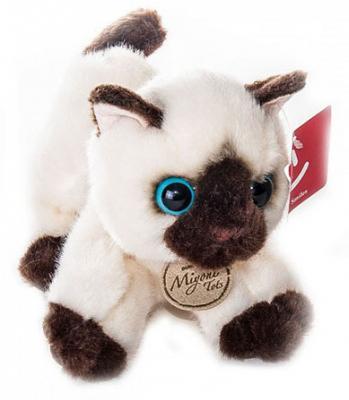 Мягкая игрушка кошка AURORA Сиамский котёнок 20-201 текстиль пластик 20 см