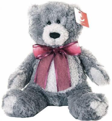 Мягкая игрушка медведь AURORA Медведь 15-328 искусственный мех текстиль пластик серый 20 см