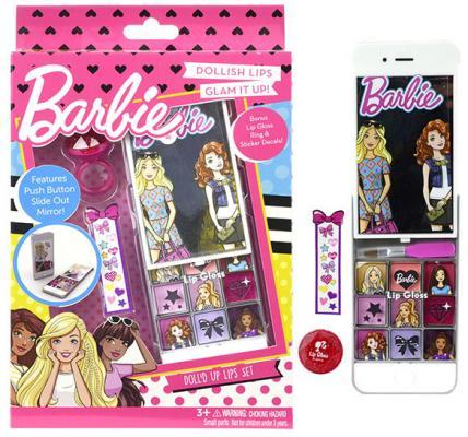 Игровой набор детской декоративной косметики Markwins Barbie