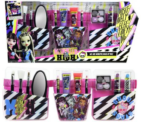 Игровой набор детской декоративной косметики Markwins «Monster high» с поясом визажиста