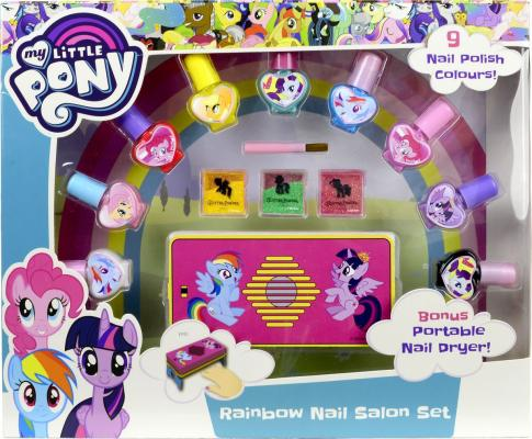 Игровой набор детской декоративной косметики Markwins My Little Pony для ногтей 9711851 набор декоративной косметики для ногтей markwins barbie