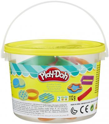 Набор для лепки PLAY-DOH Печенье 2 цвета B4453 в ассортименте всё для лепки play doh игровой набор чудо печка