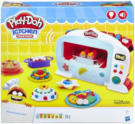 Купить Набор для лепки PLAY-DOH Чудо печь 6 цветов B9740, Наборы Play-Doh Hasbro