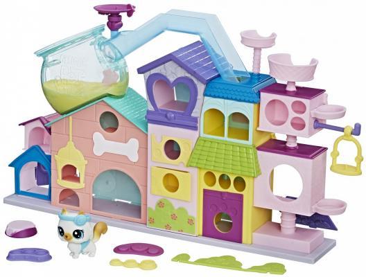 Апартаменты для петов HASBRO Littlest Pet Shop игровой набор hasbro littlest pet shop зверюшка с волшебным механизмом 4 предмета от 4 лет а5130