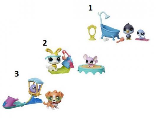 Набор фигурок Littlest Pet Shop Нвые чудесные приключения littlest pet shop набор для вышивания лентами
