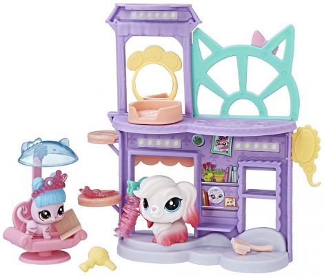 """Игровой набор Littlest Pet Shop """"Литл Пет Шоп"""" - Shaken Dry Salon C0043/C1202"""