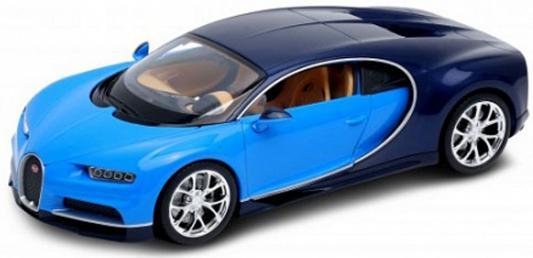 Автомобиль Welly Bugatti Chiron 1:24 синий 24077