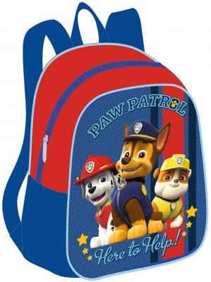 Дошкольный рюкзак РОСМЭН Щенячий патруль, малый синий красный росмэн цветной картон щенячий патруль 10 л 10 цв