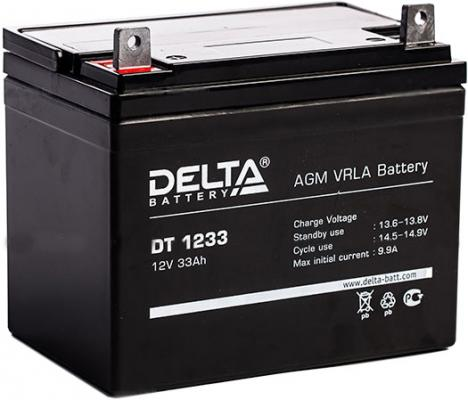 Батарея Delta DT 1233 33Ач 12B delta battery dt 1207 12v 7ah