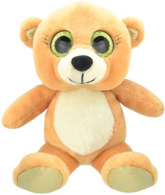 Мягкая игрушка медведь Wild Planet Медвежонок K7714 искусственный мех пластик 15 см